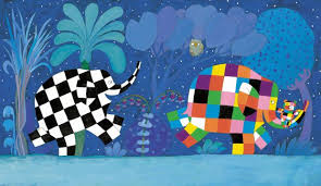 Patchwork Elephant Book - elmer the patchwork elephant david mckee s colourful character is