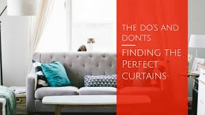 Home Decor Solutions Finding The Perfect Curtains Do U0027s And Don U0027ts Home Decor Solutions