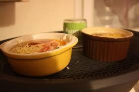 cuisine cocotte oeufs cocotte au roquefort cuisson thermomix