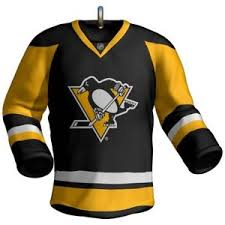 hallmark 2017 nhl pittsburgh penguins jersey ornament ebay
