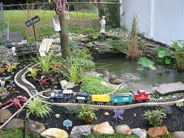 small fish pond ideas backyard landscaping with small pond ideas
