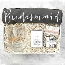 bridal party gift bags bridesmaid gift box no 3 bridal party gifts bridesmaid gift