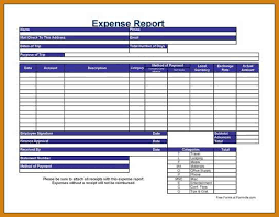 Detailed Expense Report Template by Excel Expense Report Letter Format Template