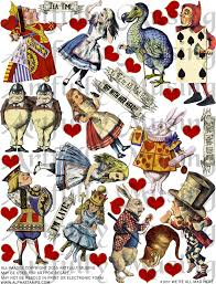 artfully musing alice wonderland tarot cards wonderland scene