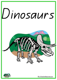 39 dinosaur vocabulary words