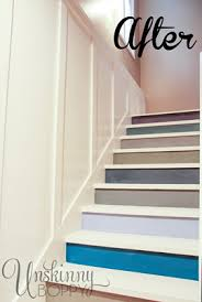 update a basement staircase with paint hometalk