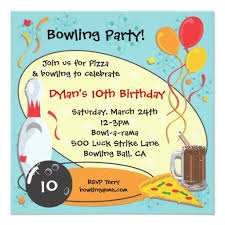 426 best bowling birthday party invitations images on pinterest