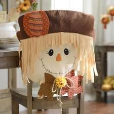 scarecrow chair covers set of 2 chair covers scarecrows