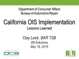 bureau of consumer affairs department of consumer affairs bureau of automotive repair data