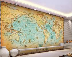 Vintage Map Wallpaper by Online Buy Wholesale Antique Map Wallpaper From China Antique Map