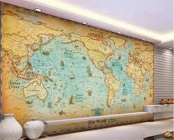 Vintage Map Wallpaper by Online Buy Wholesale Antique Map Wallpaper From China Antique Map