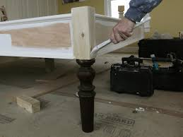 Make Bed Frame How To Build A Bed Frame How Tos Diy