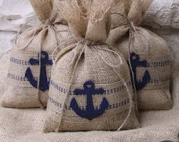 nautical gift bags burlap gift bags white christmas tree set of four 7 x