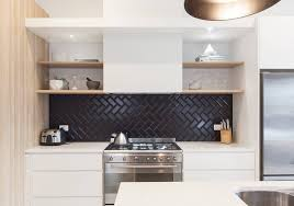 black and white kitchen backsplash awesome kitchen backsplash tile ideas white cabinets artmicha