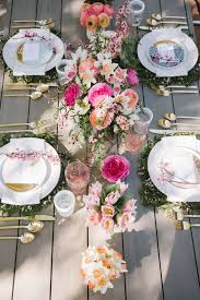Easter Restaurant Decorations by Best 25 Brunch Table Setting Ideas On Pinterest Wedding