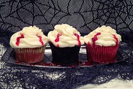 blood cupcakes the tiptoe fairy