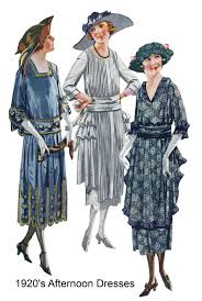 what did women u0026 men wear in the 1920s