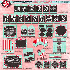 christmas free christmas party printables mimi u0027s dollhouse