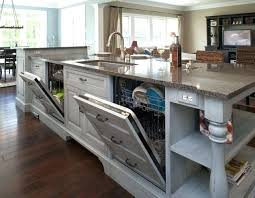 kitchen island with dishwasher kitchen islands with sink and dishwasher miraculous wooden play