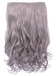 silver hair extensions selena 1 weft curly 20 hair extensions in silver grey koko couture