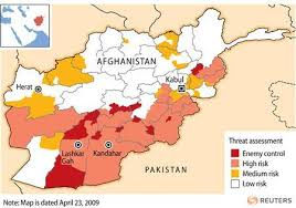 kabul map government map shows dire afghan security picture