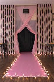 simple birthday decoration ideas at home homemade party decorations ideas diy fashion show runway for