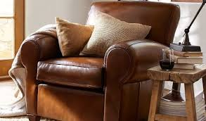 Leather Armchair With Ottoman Awesome Elegant Leather Chair With Ottoman Leather Chairs And