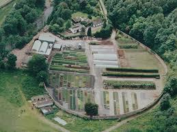 ian parsons architect new house mavisbank walled garden