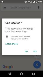 android chrome location android location settings dialog tutorial android