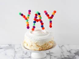 Birthday Cake Toppers This Diy Pom Pom Cake Topper Is So Festive U0026 Easy