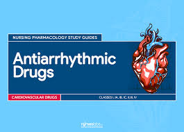 antiarrhythmic drugs u2013 nursing pharmacology study guide