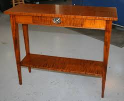 Tiger Maple Furniture Lighthouse Woodworking
