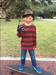 Kids Freddy Krueger Halloween Costume Homemade Freddy Krueger Kids Costume Costumes