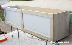 how to build a window seat with storage diy tutorial bench 4