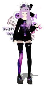 pastel goth halloween background pin by karissa elza on mmd models pinterest models anime and