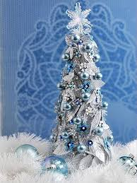 Christmas Decorations Blue White Silver by 82 Best Blue And Silver Christmas Images On Pinterest Blue