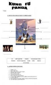 english teaching worksheets kung fu panda