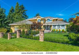 Front Yard Metal Fences - metal fence stock images royalty free images u0026 vectors shutterstock