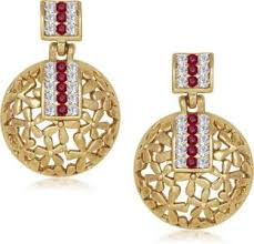 gold ear ring image gold earrings best gold earring designs online on flipkart