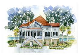 southern living charleston style house plans house plan