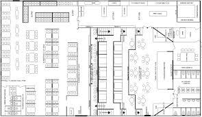 alluring restaurant open kitchen floor plan crafty ideas layout