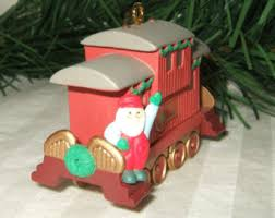 caboose ornament etsy