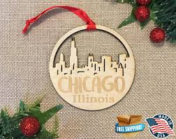 illinois ornament etsy
