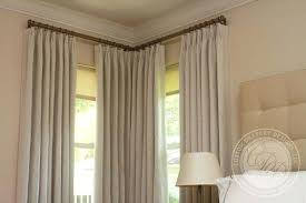 Corner Curtain Rod Connector Corner Curtain Rod Curtain Rods And Finials Corner Shower Curtain