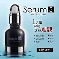 Serum Acne qoo10 serum 5 anti acne liquid serum 5 抗痘去粉刺精华素 cosmetics