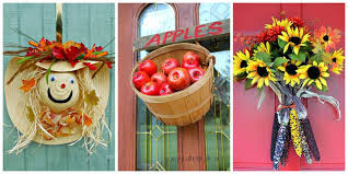 door decorations 18 fall door decorations ideas for decorating your front door