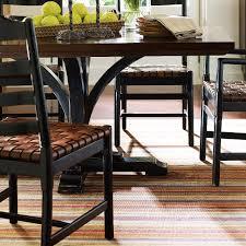the classic portfolio artisan two tone pedestal table by stanley