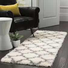 Living Room Furniture Montreal Montreal Shag Rugs Grey Quatrefoil Shag Safavieh Com