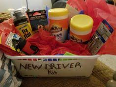 new driver survival a great diy gift for your new driver
