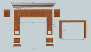 Wood Mantel Shelf Plans by Diy Fireplace Mantel 2manyprojects
